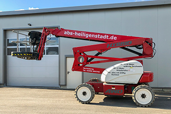 Niftylift Elektro-Gelenkteleskopbühne GTB 210DE HR21 4x4 Hybrid